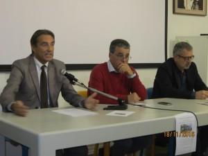 Relatori specialisti di prevenzione, Berti, Fedi e Valiani