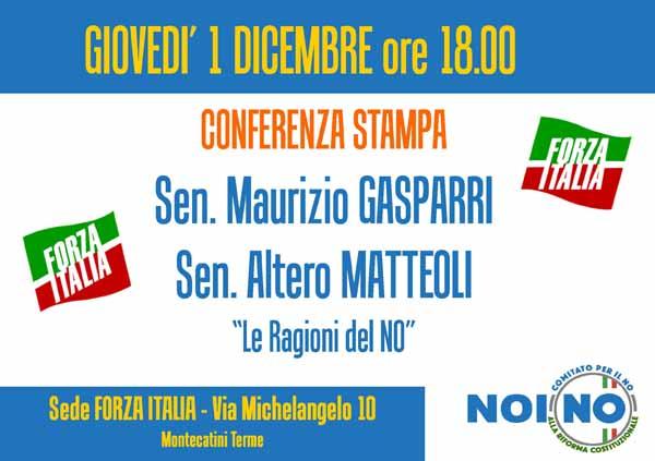 referendum. FORZA ITALIA: «NO A UNA RIFORMA FRETTOLOSA»