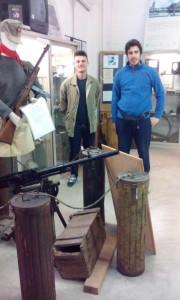 Un mitragliatore Breda
