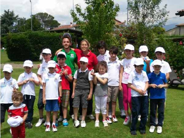 IL GOLF CLUB QUARRATA PROTAGONISTA NEL CIRCUITO UNDER 12