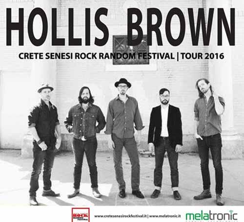 "ATTESA A SINALUNGA LA ""HOLLIS BROWN"", SUPER ROOTS ROCK BAND"
