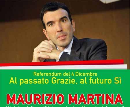 referendum. INCONTRO CON MAURIZIO MARTINA