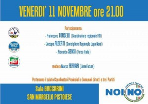 Locandina 11 novembre