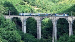Un viadotto della Porrettana