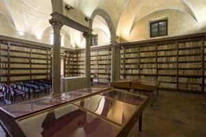 sala Gatteschi biblioteca Forteguerriana