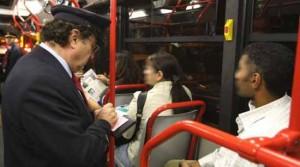 Sul bus senza biglietto [repertorio]