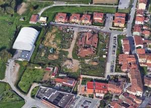 Pistoia. Veduta aerea dell'area del Fornacione