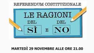 referendum. MONSUMMANO, VOTARE INFORMATI
