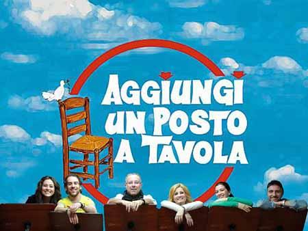 """commedia. L'AFFASCINANTE SILVIA IN """"AGGIUNGI UN POSTO A TAVOLA"""""""