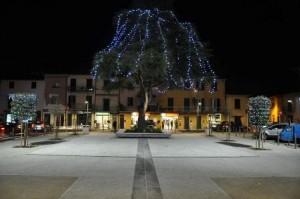 Quarrata, piazza della Vittoria