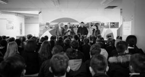 Un momento della cerimonia (foto di Angela Bartoletti)