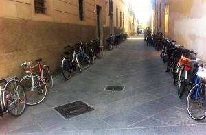 Pistoia, emergenza rastrelliere per biciclette 1