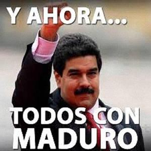 Un bel Maduro e vedrete come si viaggia anche noi!