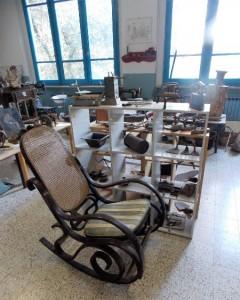 Museo di Saturnana, una delle due aule