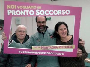 Emiliano Bracali, Simone Ferrari, Eva Giuliani