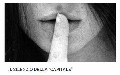 """tvl-quarratanews. IL SILENZIO DELLA """"CAPITALE"""""""