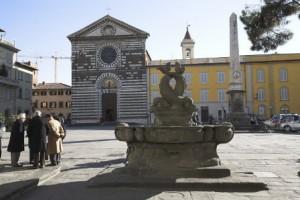 Prato, piazza San Francesco