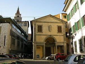 Pistoia, esterno della chiesa di San Leone