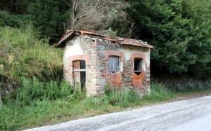 Il casello del Pozzo Verde quando c'era