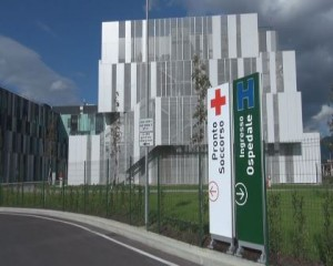 L'accesso al nuovo ospedale di Prato