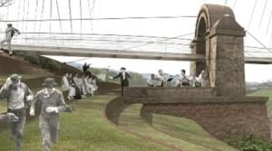 Poggio a Caiano. Il ponte Manetti rivisto secondo un concorso di idee