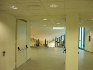 Un interno dell'ospedale Santo Stefano
