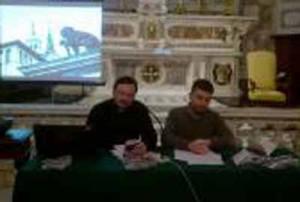 Don Ugo Feraci e Michael Cantarella