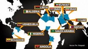 I Paesi dell'Opec