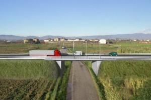Uno dei ponti del nuovo tratto