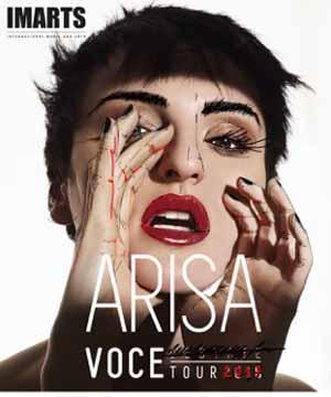 "arisa. ""VOCE 2017"", DAL 12 GENNAIO IL TOUR NEI TEATRI"