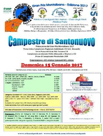 """podismo. TORNA LA """"CAMPESTRE DI SANTONUOVO"""""""