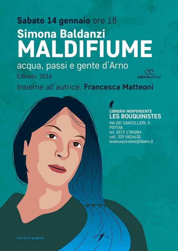 """les bouquinistes. """"MALDIFIUME"""", UN VIAGGIO LUNGO L'ARNO"""