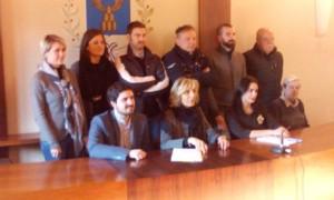 Membri delle opposizioni su Alia, da sinistra:Bruni, Pieri,Benesperi,Ciottoli, Sarti,Fedi, Guercini, Risaliti Betti e Pastorini.