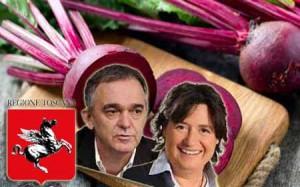 La Toscana è una regione a intensità di coltivazione di barbabietole rosse