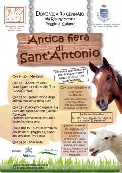 """""""FIERA DI SANT'ANTONIO"""" A POGGIO A CAIANO"""