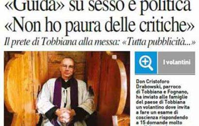 punte secche. MA LA CHIESA CATTOLICA APOSTOLICA ROMANA… QUAL È?