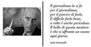 Indro Montalenni e il giornalismo