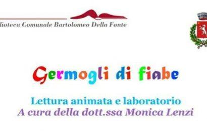 """montemurlo. """"GERMOGLI DI FIABE"""" ALLA BIBLIOTECA """"DELLA FONTE"""""""
