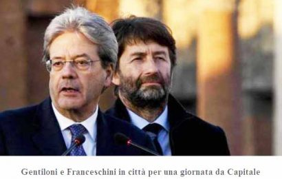 GENTILONI, FRANCESCHINI E LA CULTURA