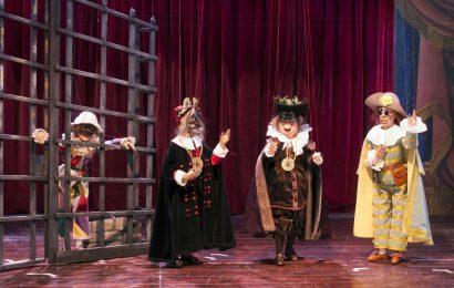 """teatro manzoni. """"IL GIRELLO"""", LA FARSA DEL POTERE"""