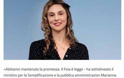 "FOIA ""FREEDOM OF INFORMATION ACT"": ORA SI PUÒ CHIEDERE TUTTO"