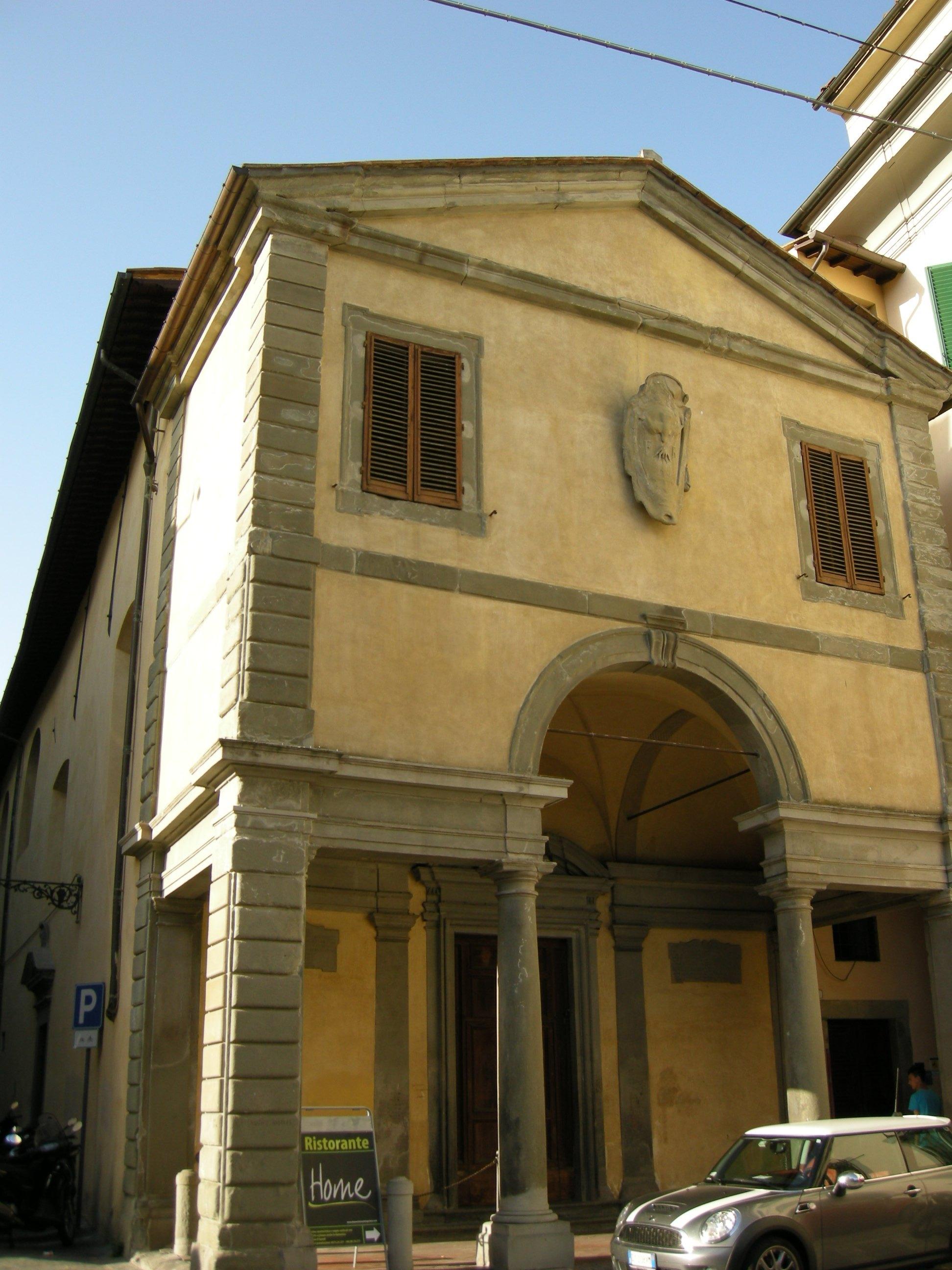 Pistoia il restauro della chiesa di san leone linea libera for Chiesa di san leone pistoia