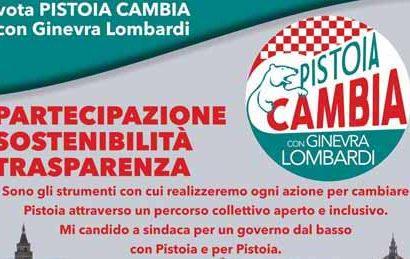 """LISTA DI CITTADINANZA ATTIVA """"PISTOIA CAMBIA"""""""