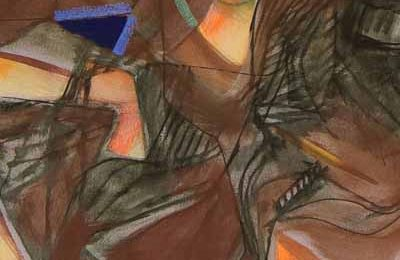 """pittura. """"TRITTICI"""" DI GEORGES CLAUDE BOISSONNADE"""