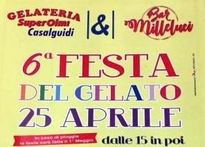 """serravalle. SESTA FESTA DEL GELATO PER GLI """"AMICI DI FRANCESCO"""""""
