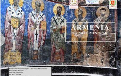 """""""ARMENIA, PER NON DIMENTICARE"""", FOTO E POESIE PER CONOSCERE LA STORIA DI UN POPOLO"""