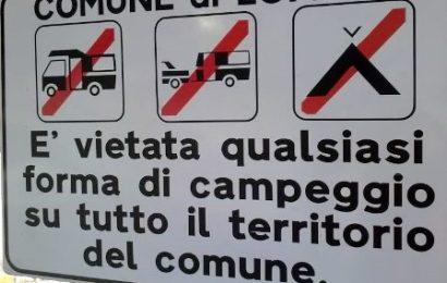 AGLIANA, DIVIETO DI CAMPEGGIO SU TUTTO IL TERRITORIO