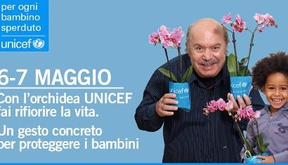 montemurlo. ORCHIDEE UNICEF PER I BAMBINI SPERDUTI