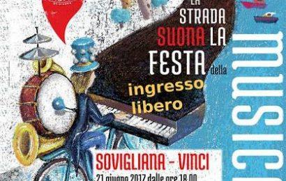 VINCI SI PREPARA ALLA FESTA DELLA MUSICA 2017