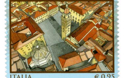 FRANCOBOLLO CELEBRATIVO DI PISTOIA CAPITALE ITALIANA DELLA CULTURA 2017